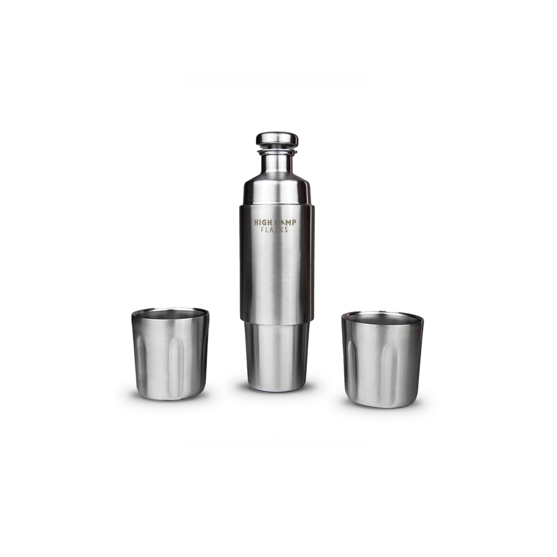 The Best Flask Option: High Camp Insulated Magnet Flask & Tumblers