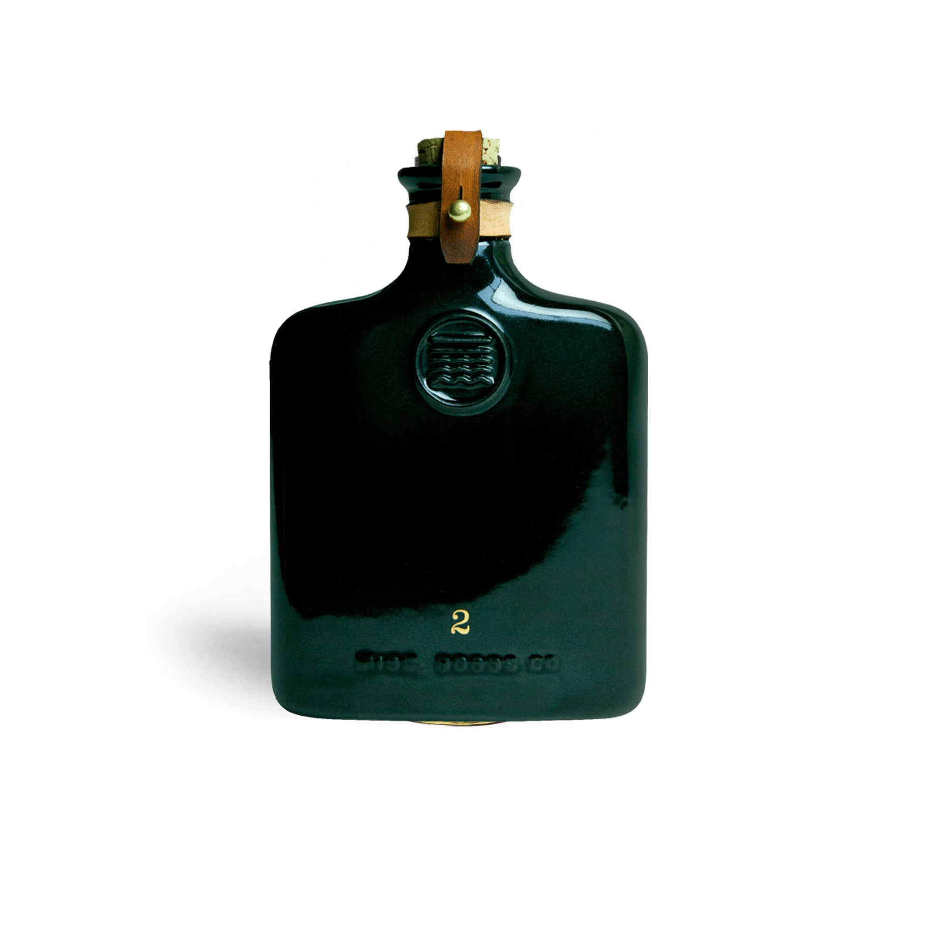 The Best Flask Option: Misc Black or Ivory Ceramic Flask