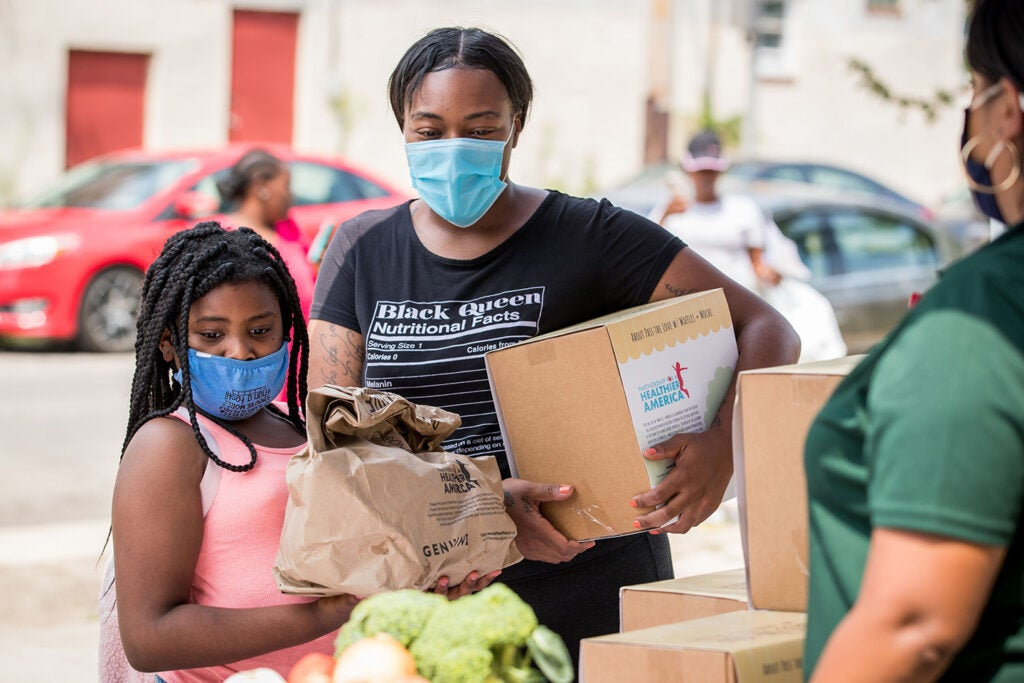Distributing Michelle Obama's Partnership for Healthy America