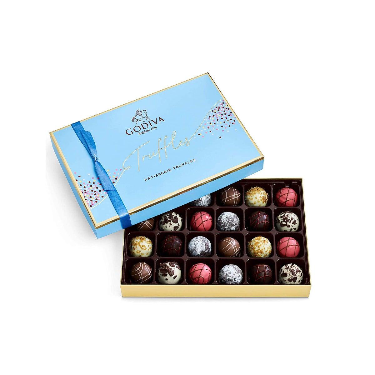 Best Chocolate Gifts Option Godiva Chocolatier Patisserie Dessert Truffles Assorted Chocolate Gift Box