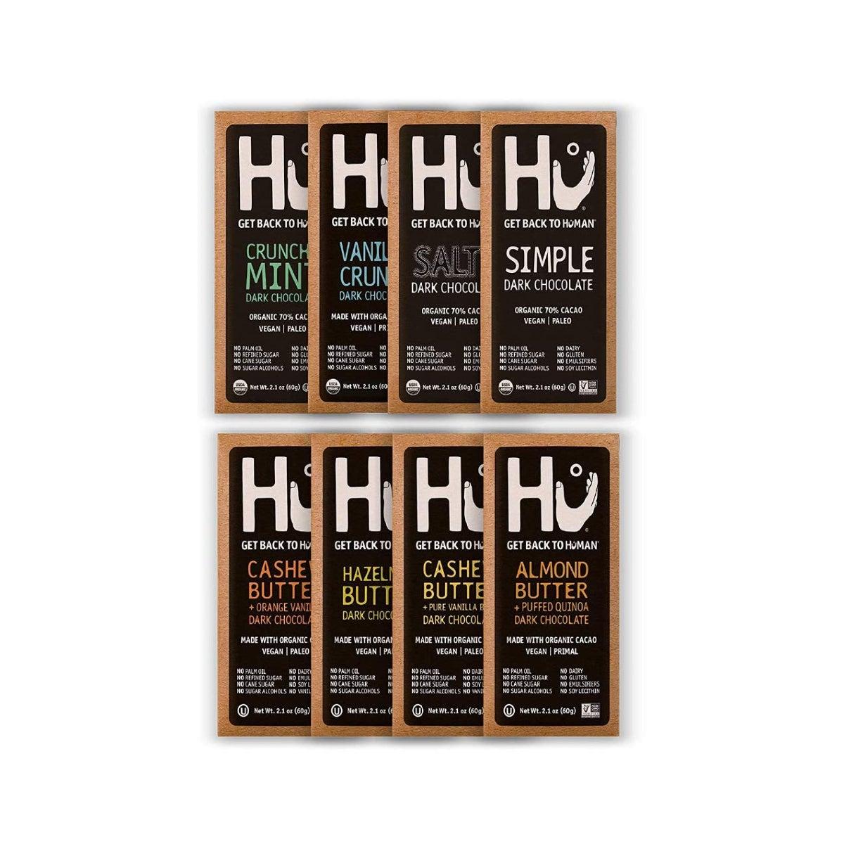 Best Chocolate Gifts Option Hu Dark Chocolate Bars