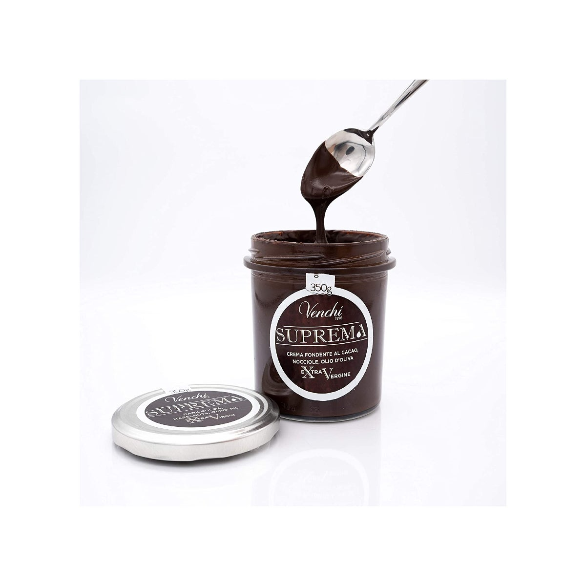 Best Chocolate Gifts Option Venchi Suprema Dark Chocolate Spread with Extra Virgin Olive Oil