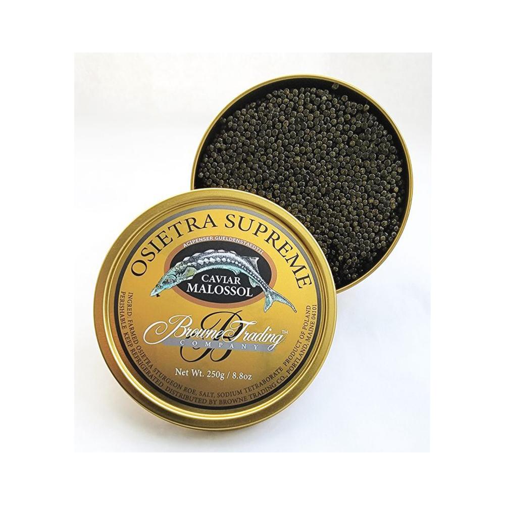The Best Caviar Option: Browne Trading Company Osetra Supreme