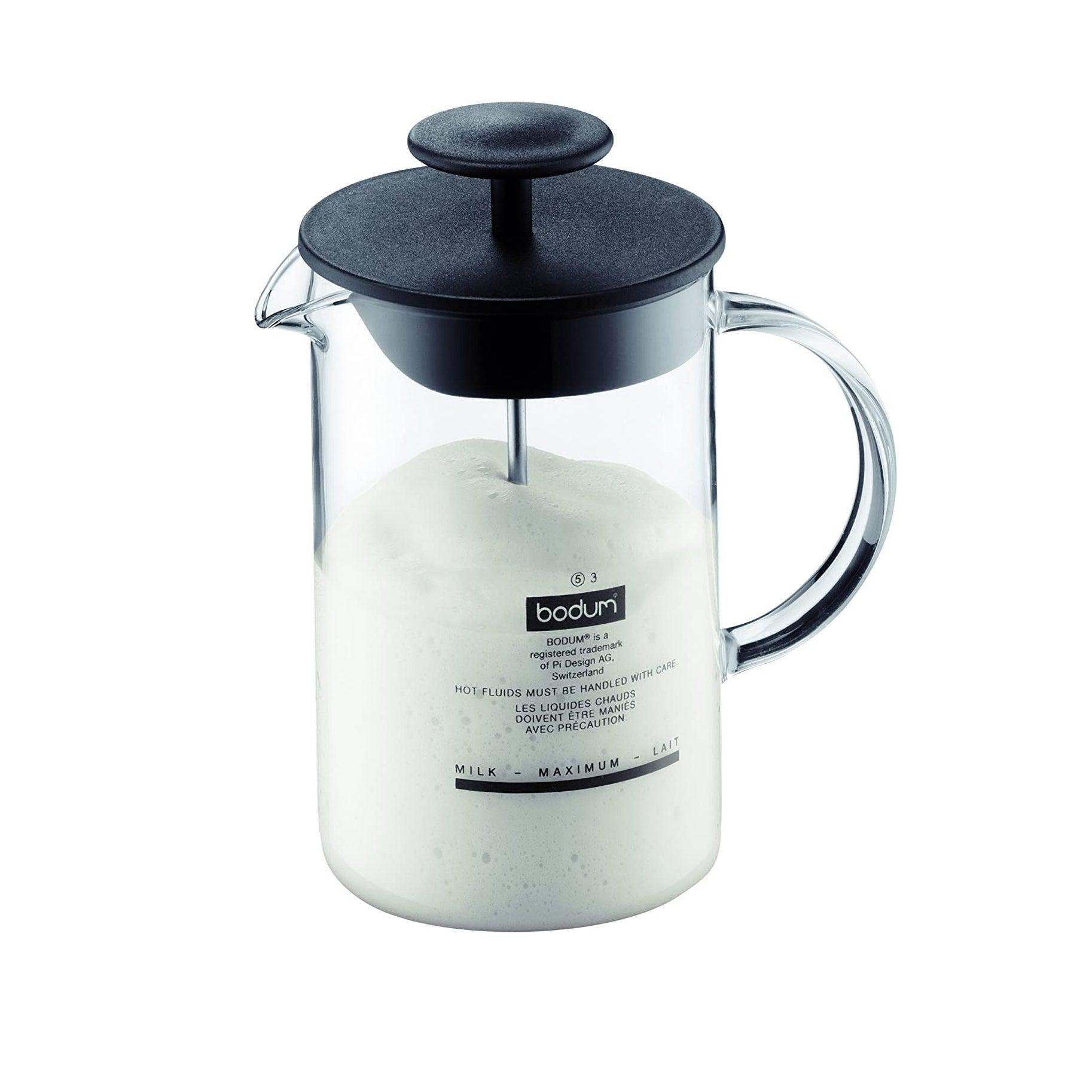 The Best Milk Frother Option: Bodum Latteo Manual Milk Frother