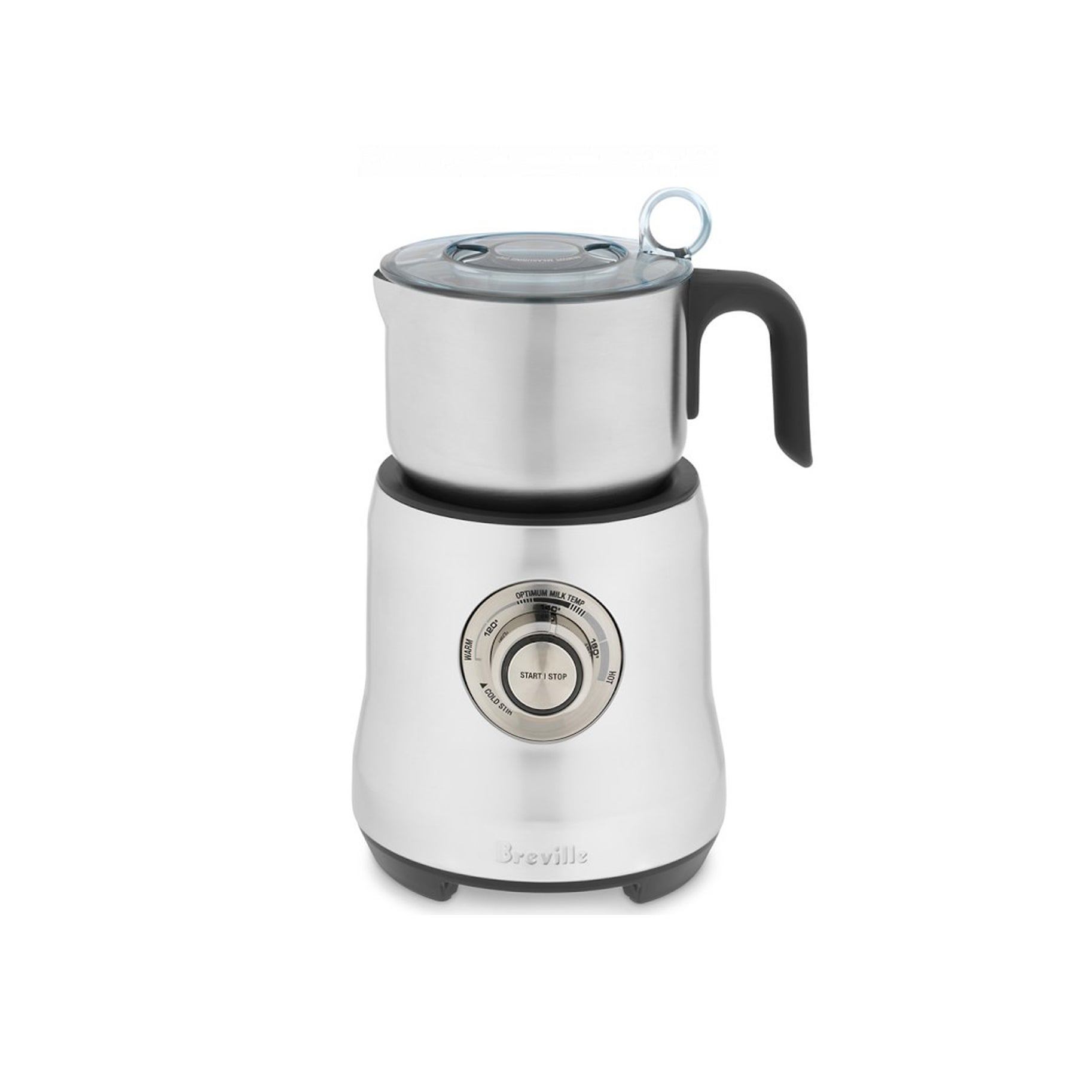 The Best Milk Frother Option: Breville The Milk Cafe Electric Frother