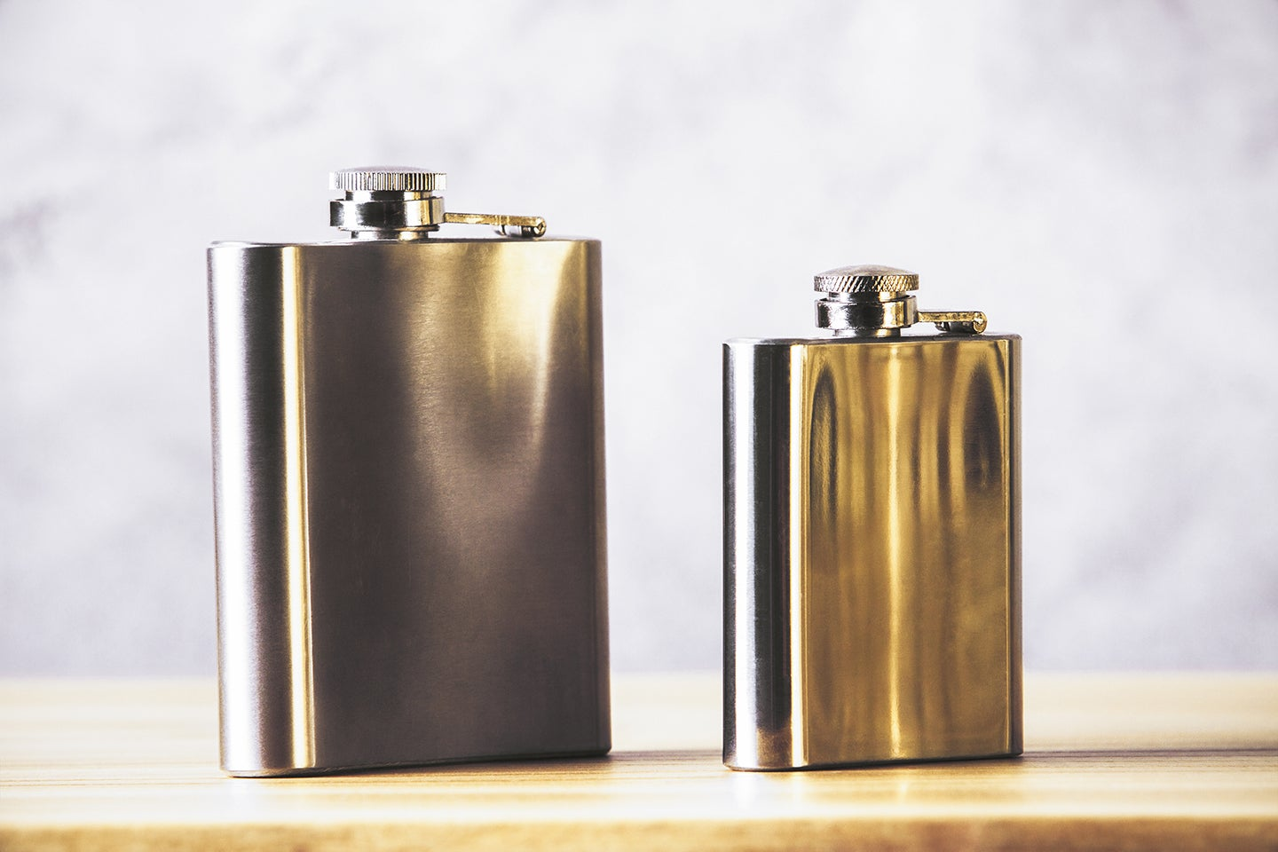 Two flasks