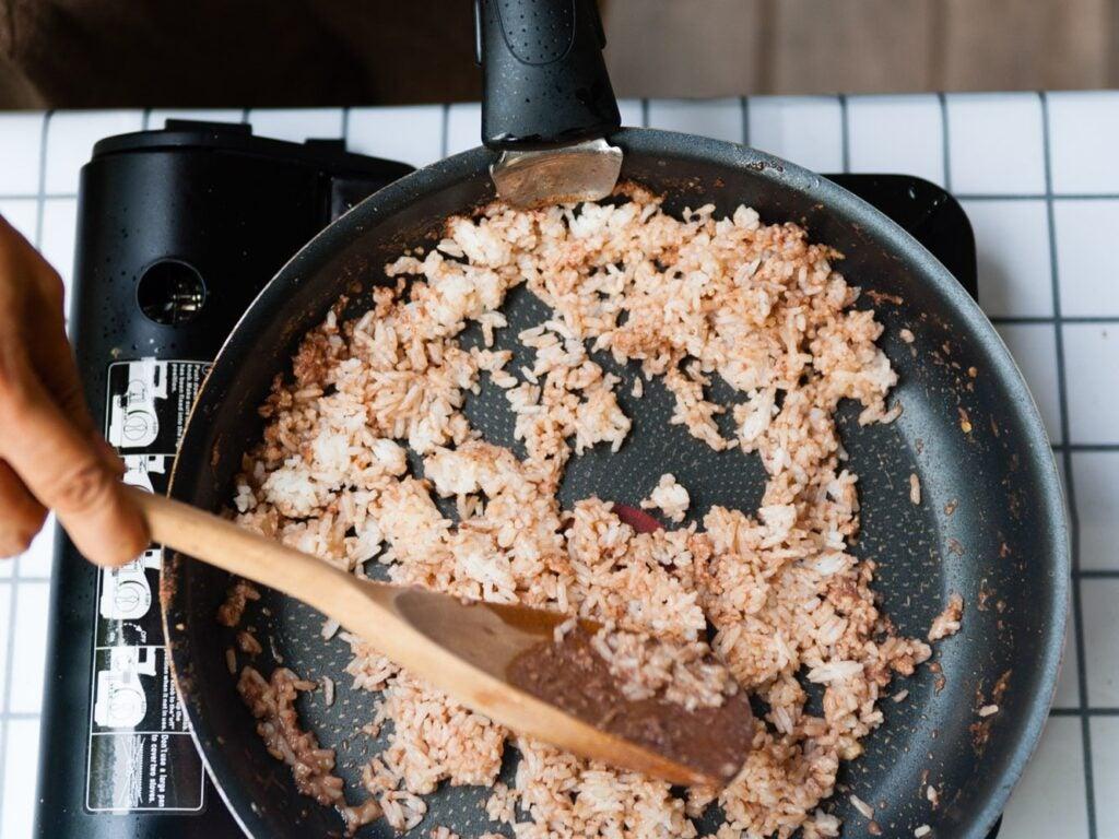 Long Grain Thai Rice is the Backbone of Khao Khluk Kapi