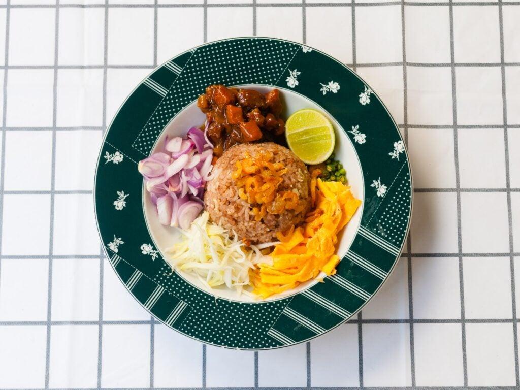 khao khluk kapi Bangkok Rice from Thailand