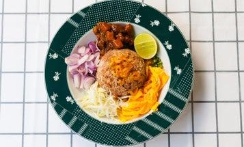 Khao Khluk Kapi (Bangkok Rice with Shrimp Paste and Sweet Pork)