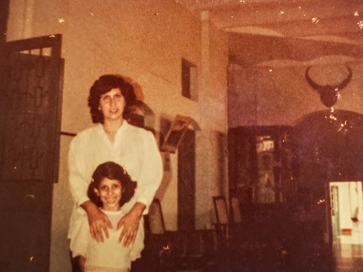 Meher Mirza and Mother Old Photograph for Indian Curry