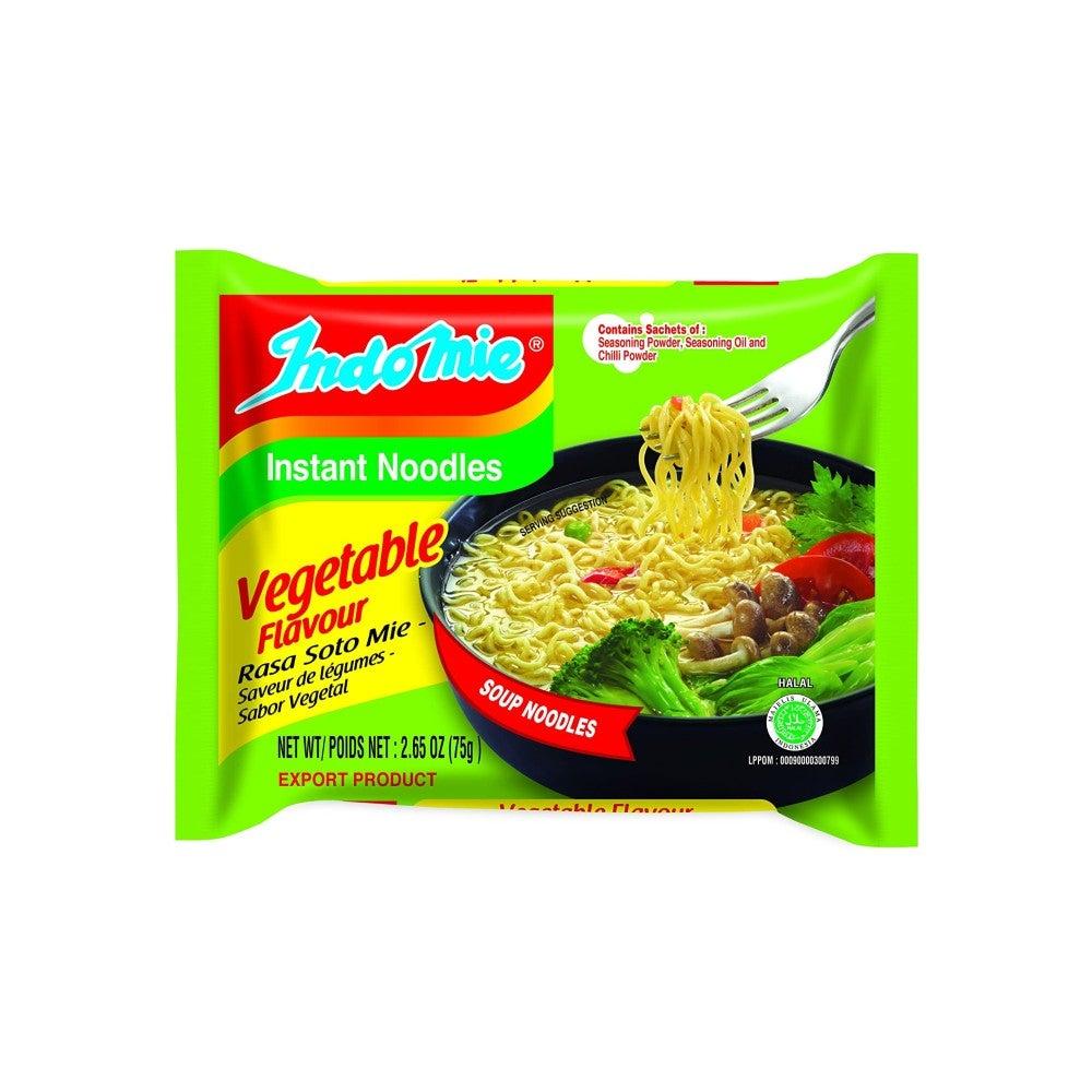 The Best Ramen Noodle Option: Indomie Vegetable Flavor Rasa Soto Mie