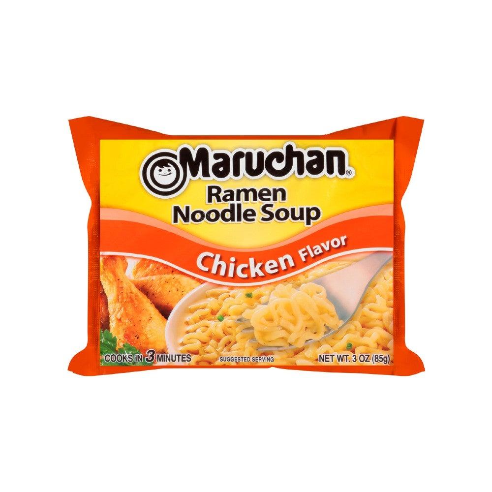 The Best Ramen Noodle Option: Maruchan Chicken or Creamy Chicken