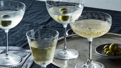 The Best Martini Glasses Are as Unique as the Way You Take Your Drink