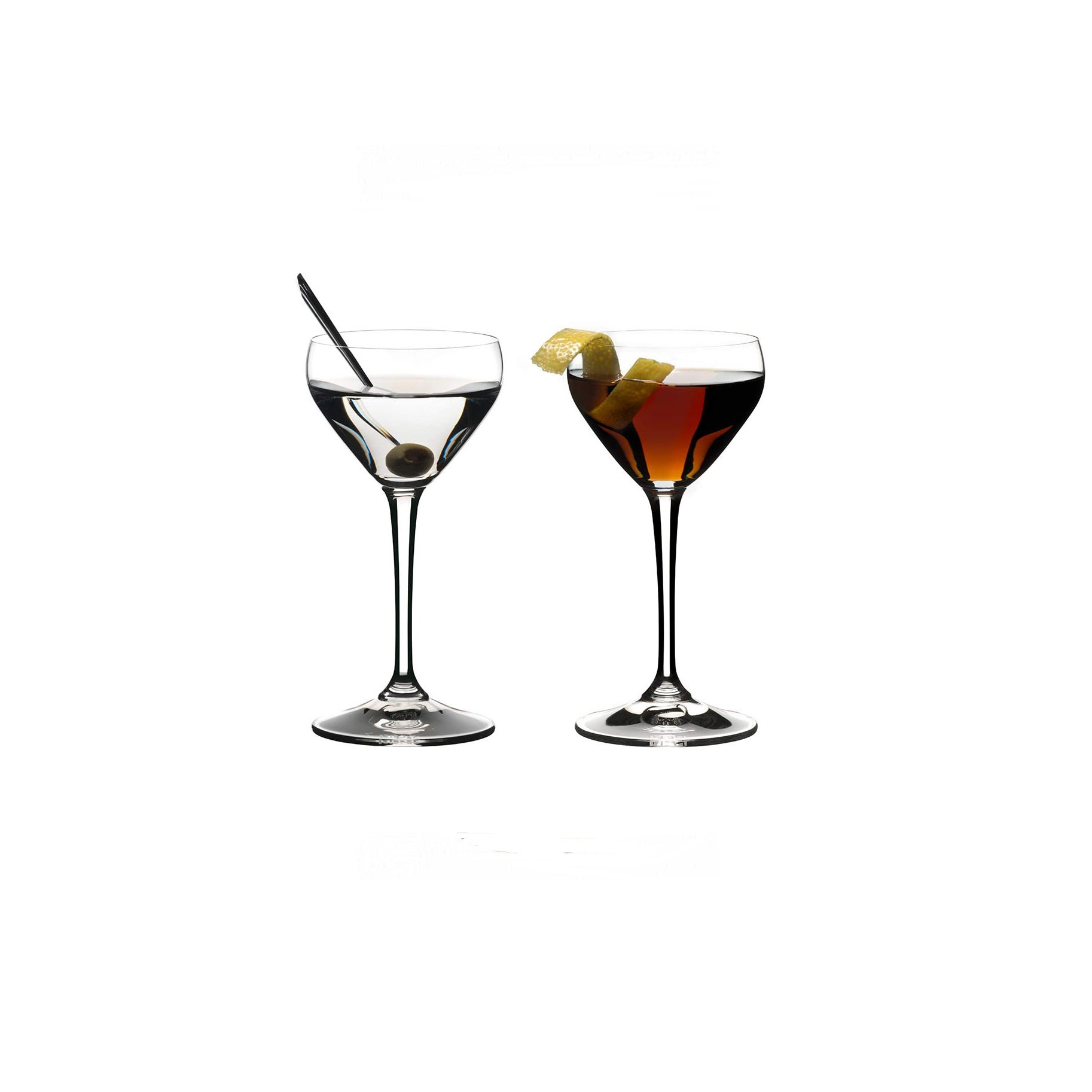 The Best Martini Glass Option: Riedel Drink Nick and Nora Cocktail Glass