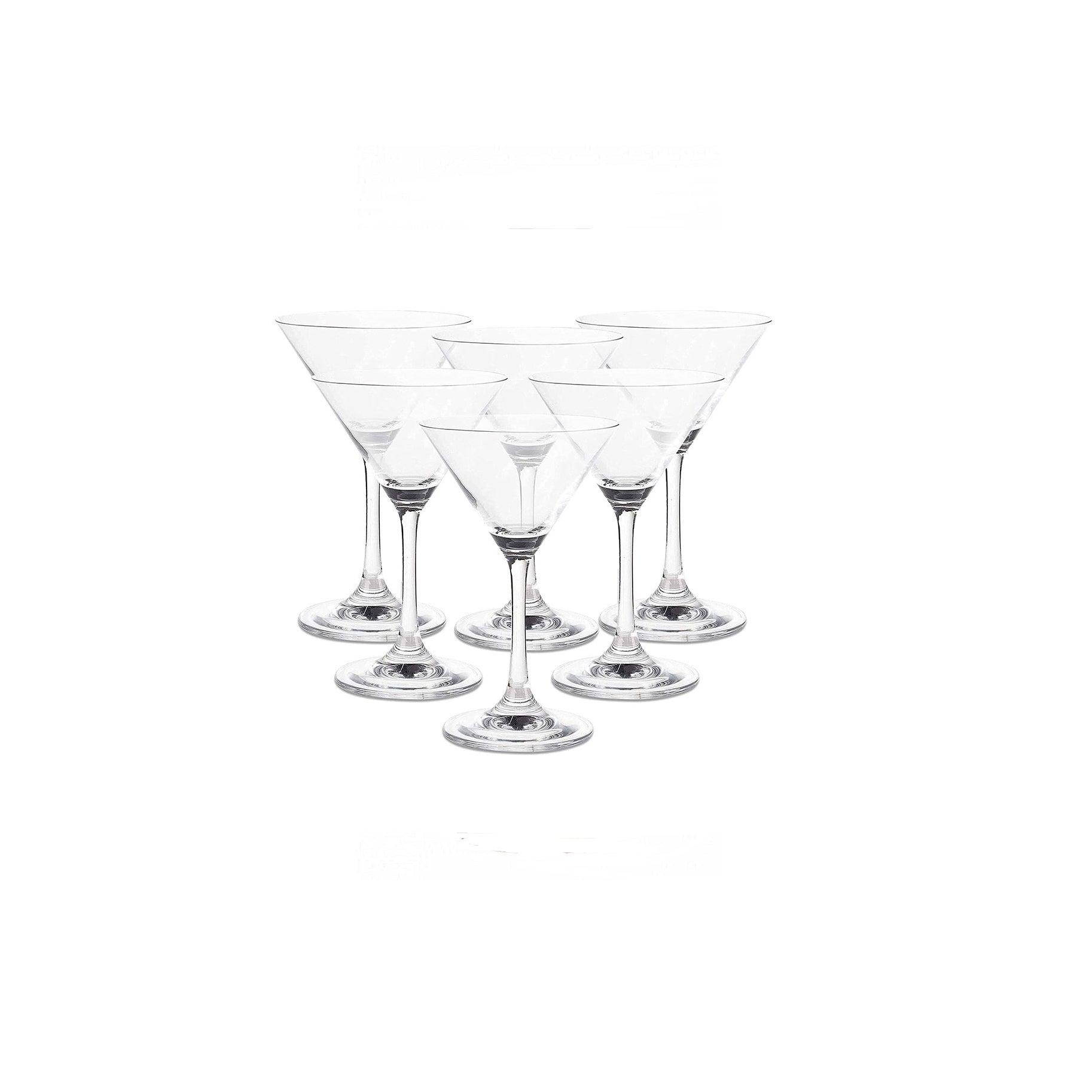 The Best Martini-Glass Option: Set of 6 Classic Martini Glasses