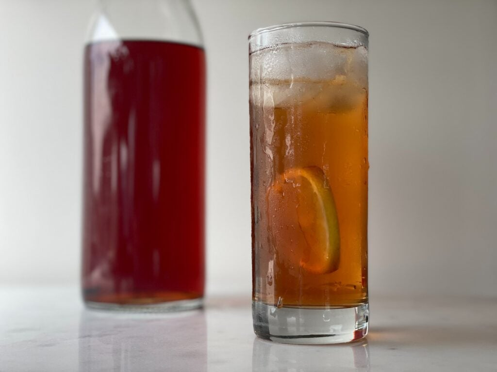 Shiso shrub recipe non-alcoholic