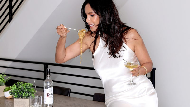 Padma Lakshmi Makes This Spicy Swap To Give Her Martinis Extra Kick