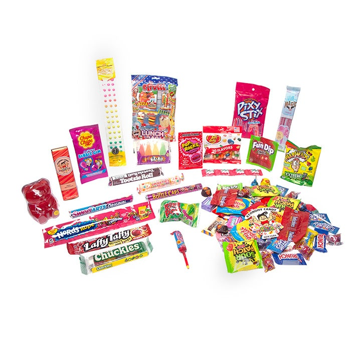 Best Food Gift Baskets Option_ Economy Candy CandyCare Packs