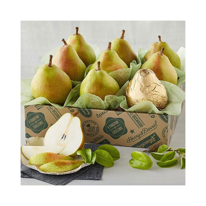 Best Food Gift Baskets Option_ Harry & David's The Favorite Royal Riviera Pears
