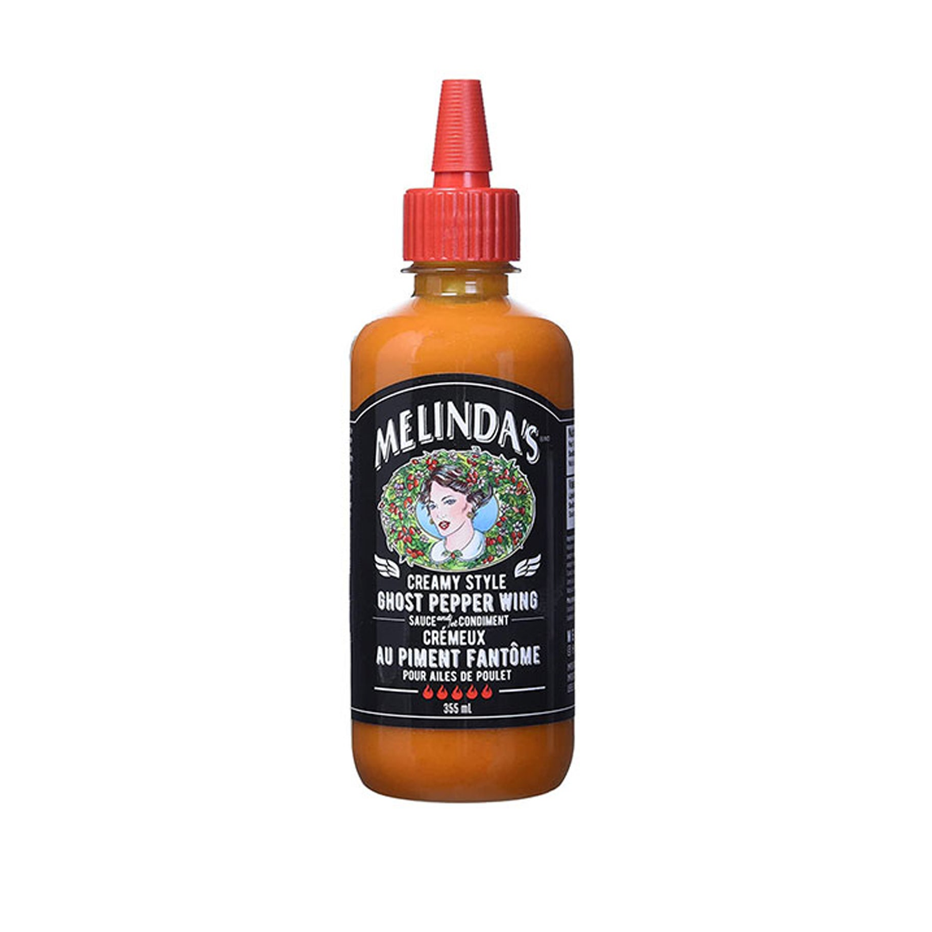The Best Hot Sauces Option: Melinda's Ghost Pepper Wing Sauce