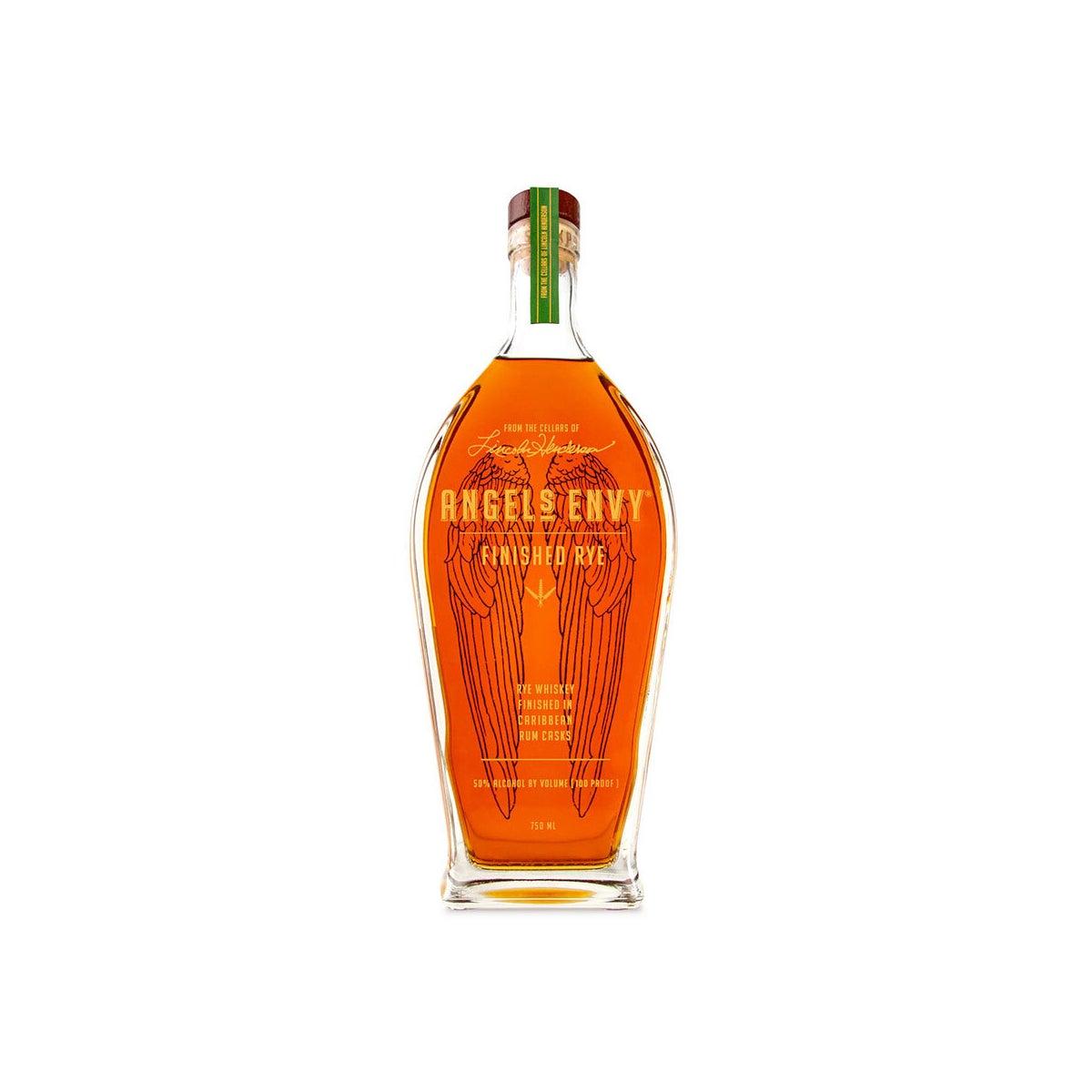 Best Rye Whiskeys Option_ Angel Envy's Rye finished in Caribbean Rum Casks