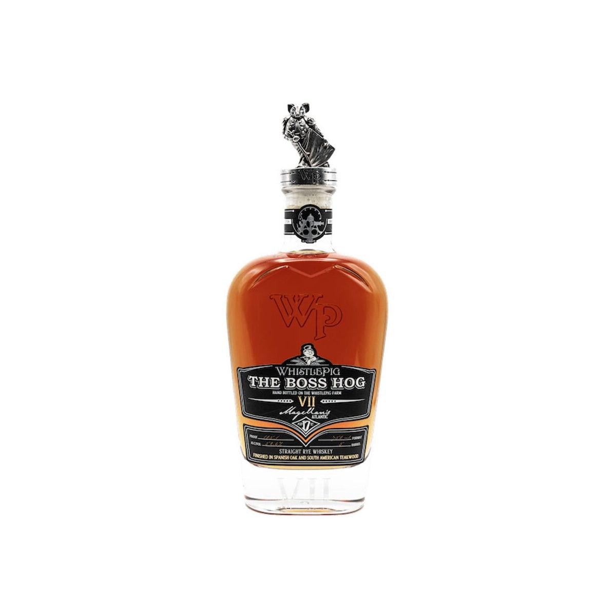Best Rye Whiskeys Option_ Whistle Pig Boss Hog Series