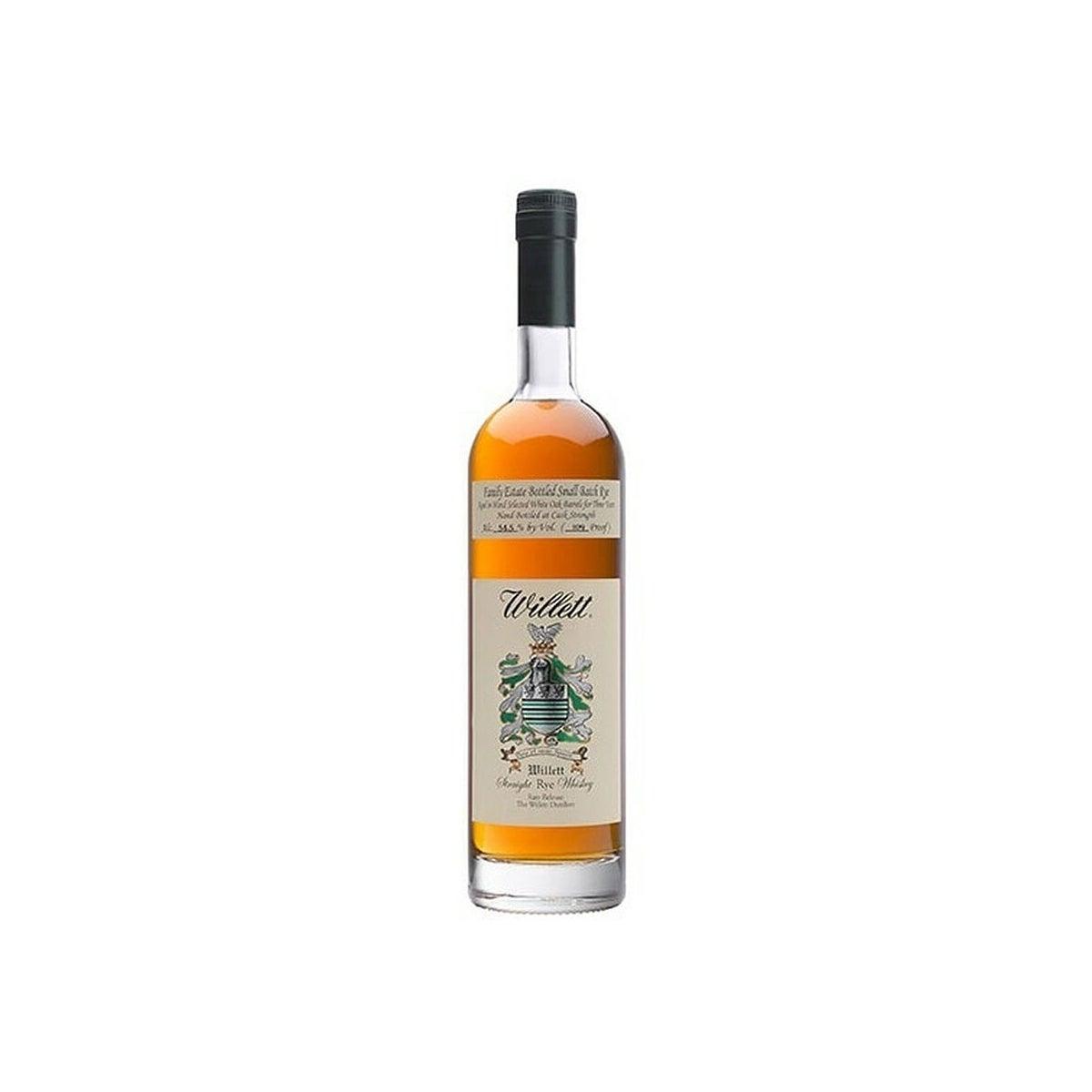 Best Rye Whiskeys Option_ Willett Family Estate Cask Strength 4 Year