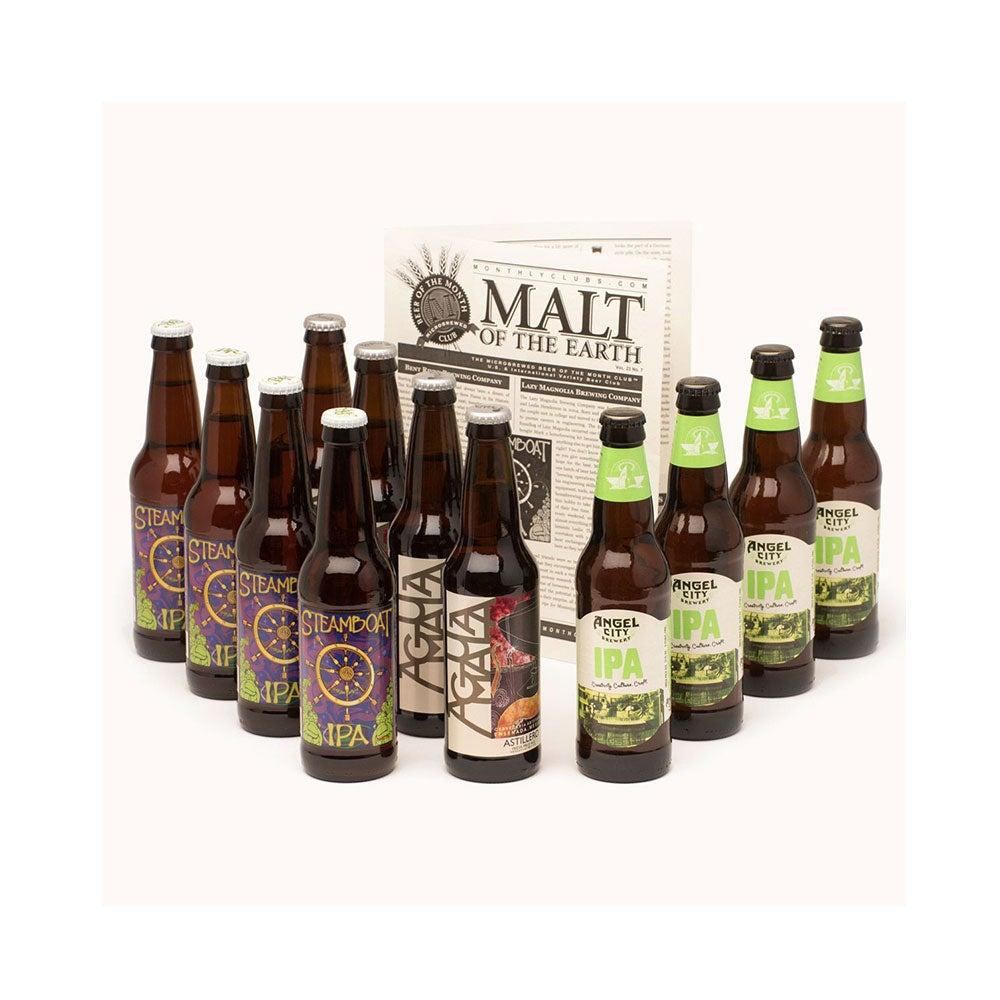 Bottles from hop Head Beer Club