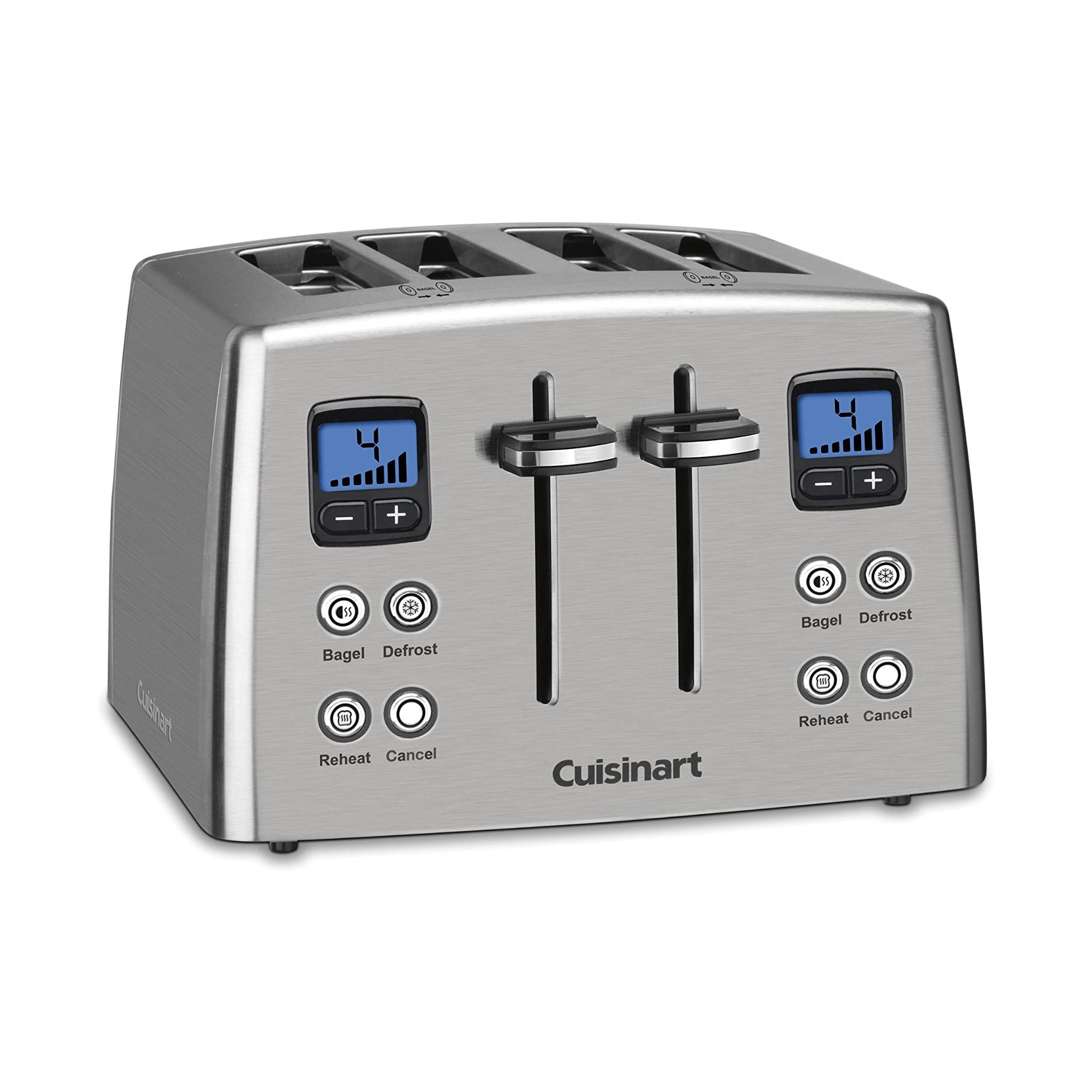 The Best Four Slice Toasters Option: Cuisinart Countdown Four Slice Toaster