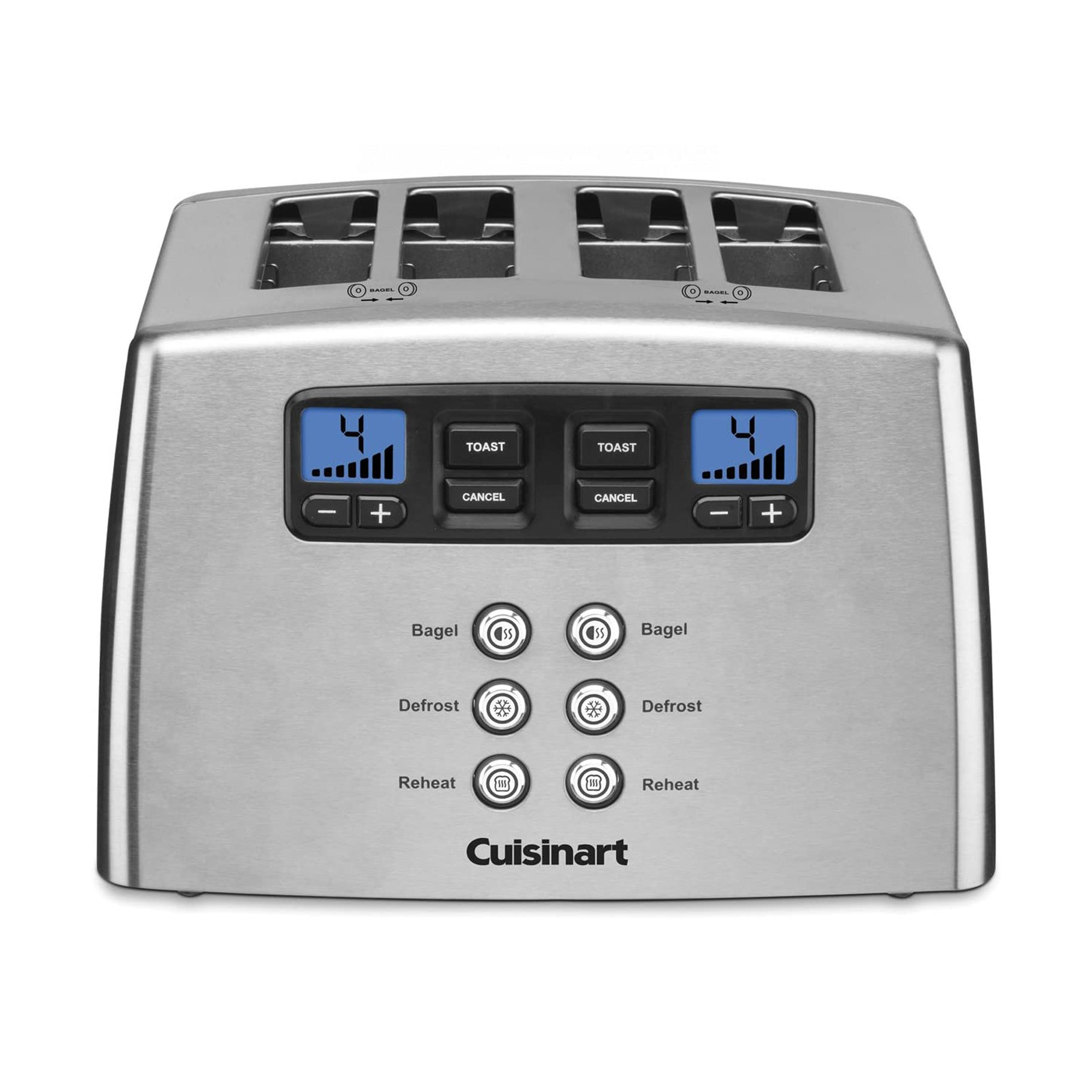 The Best Four Slice Toasters Option: Cuisinart Touch to Toast Leverless Toaster