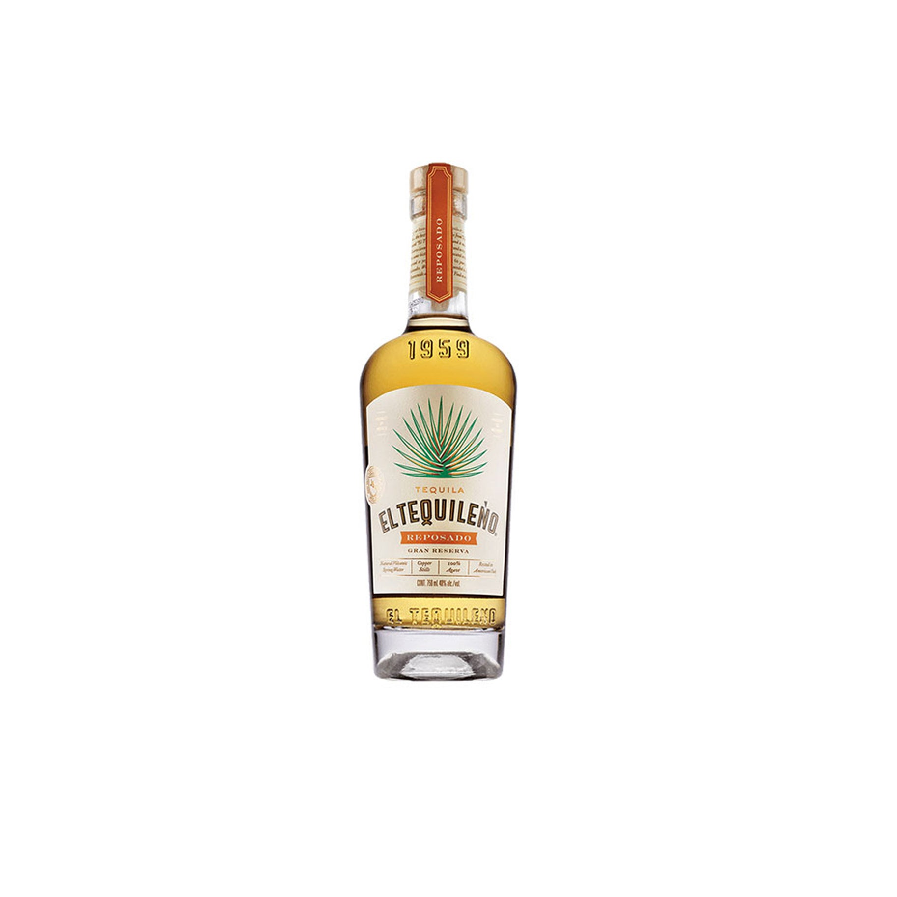 The Best Sipping Tequila Option: Tequila El Tequileño Reposado Gran Reserva