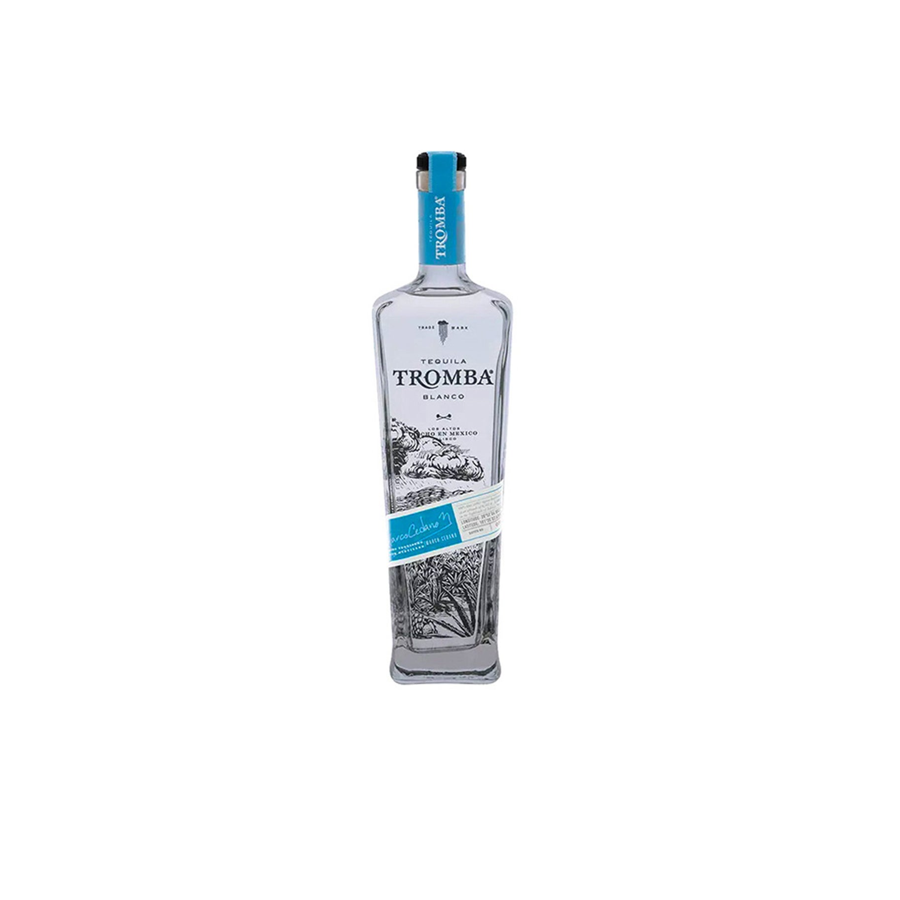 The Best Sipping Tequila Option: Tromba Blanco