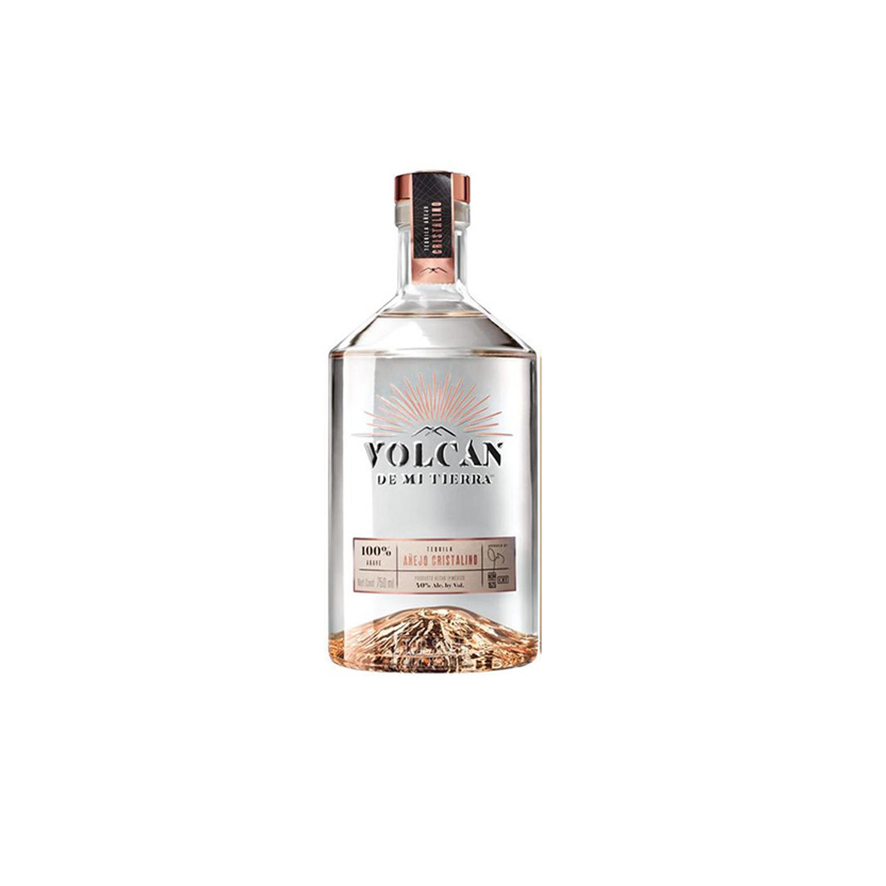 The Best Sipping Tequila Option: Volcán De Mi Tierra Cristalino Tequila