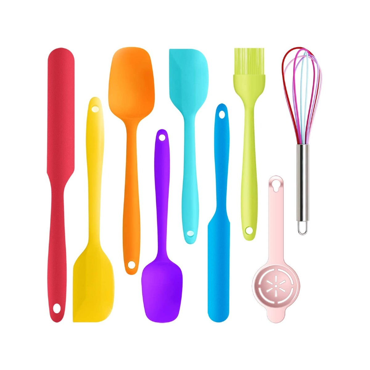 Best Silicone Cooking Utensils Option_ oannao Silicone Spatula Set