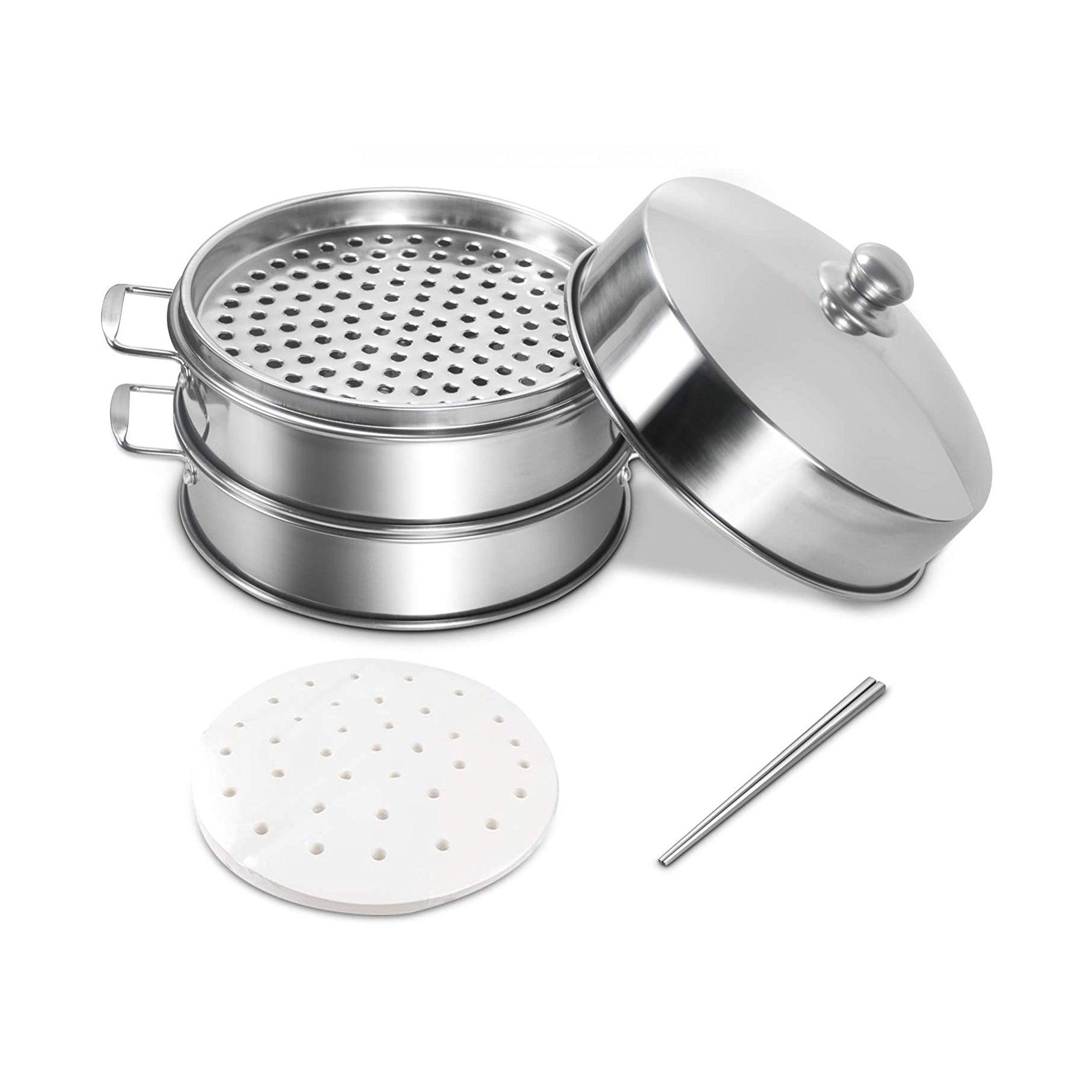 The Best Food Steamers Option: Anlisnut Stainless Steel Steamer