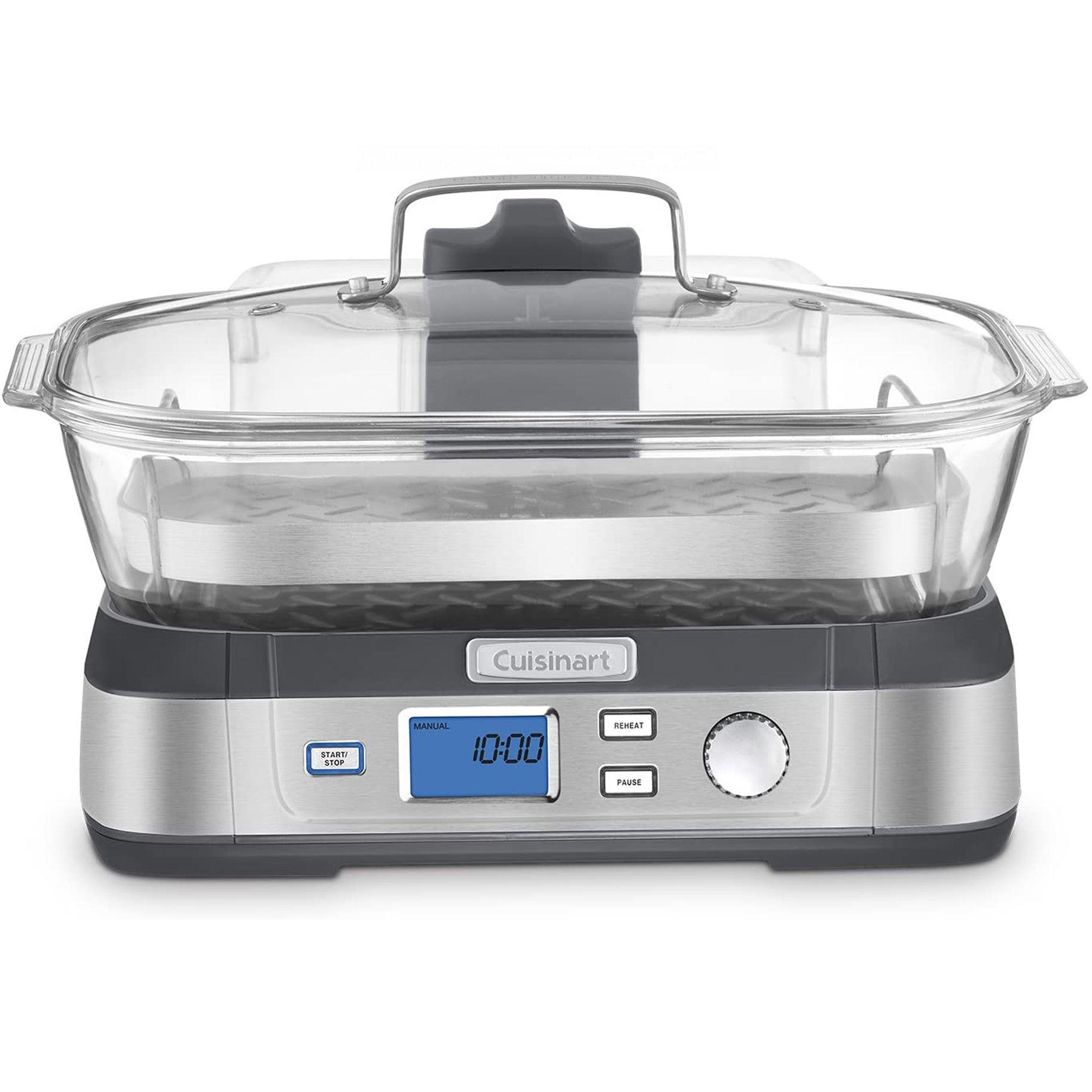 The Best Food Steamers Option: Cuisinart Digital Glass Steamer