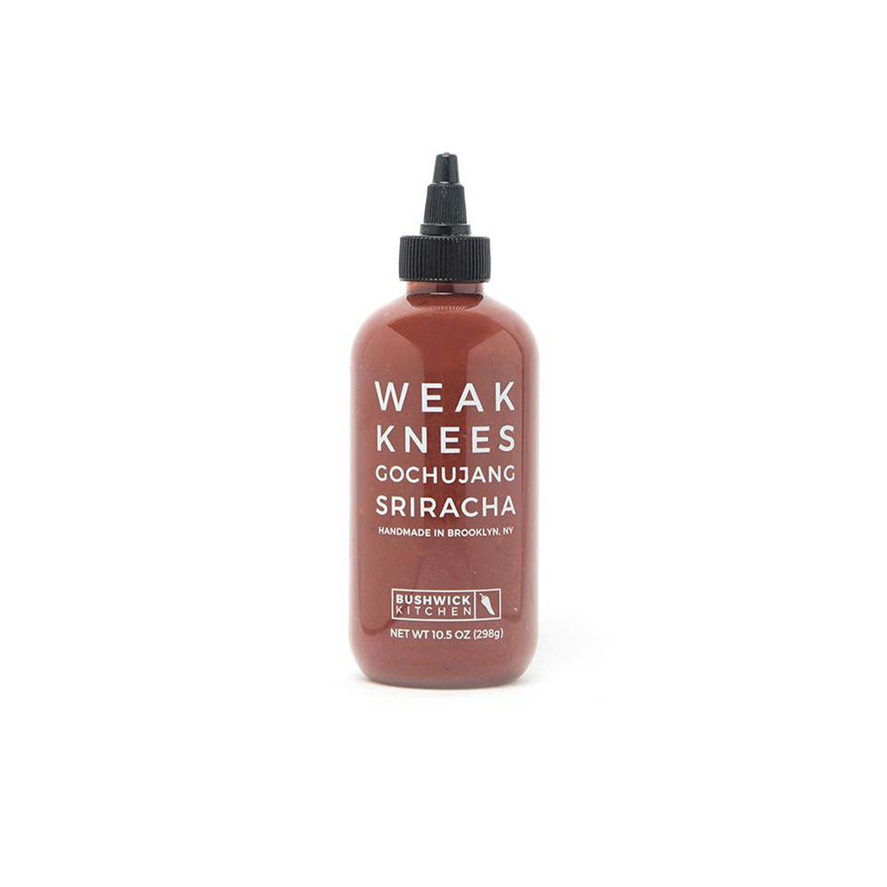 The Best Sriracha Option: Bushwick Kitchen Weak Knees Gochujang Sriracha