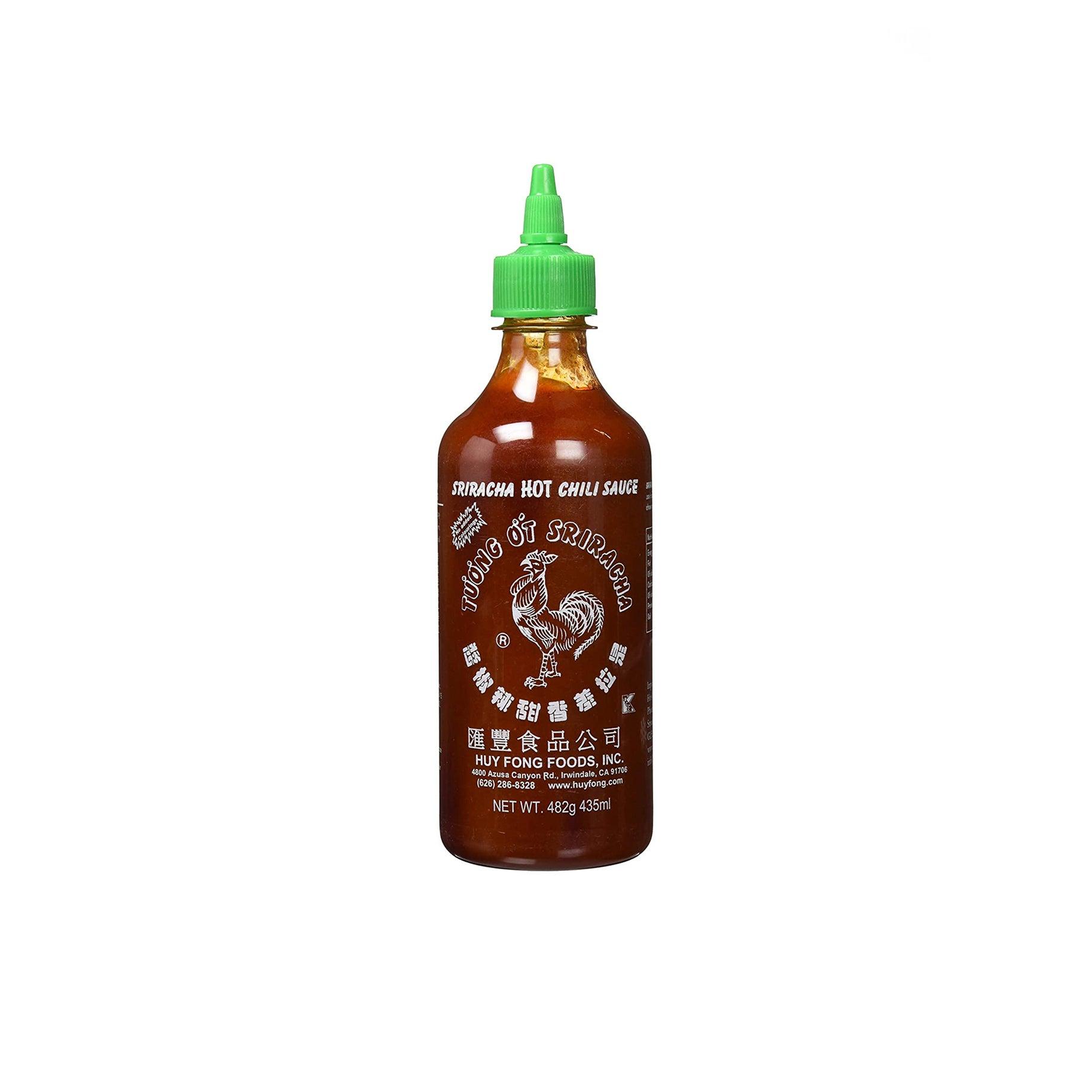The Best Sriracha Option: Huy Fong Sriracha Chili Sauce