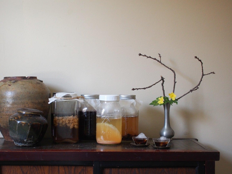 Aged Taiwanese Vinegar and Fresh Fruit Vinegar