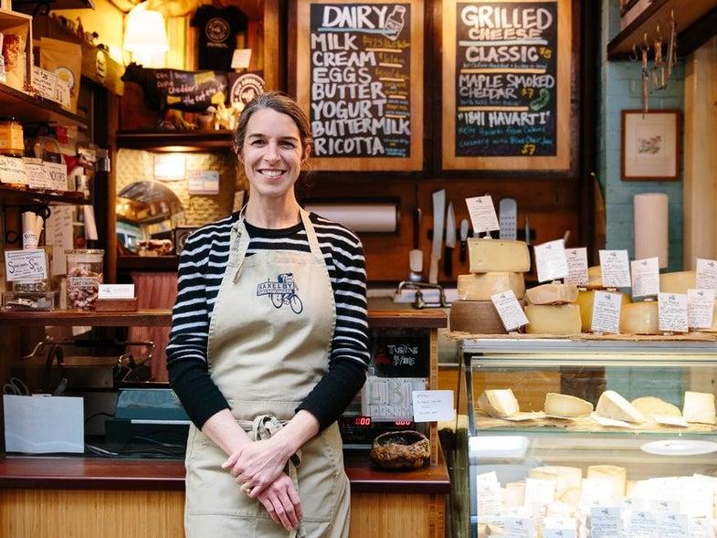 Anne Saxelby in Essex Market