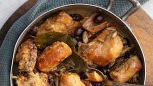 Coniglio alla Ligure Ligurian Braised Rabbit Stew